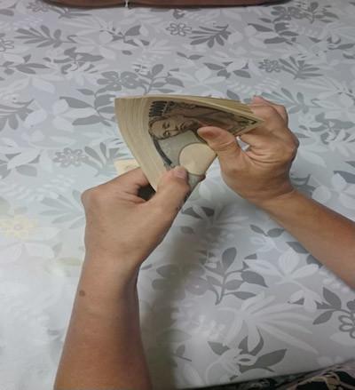 元銀行員の方に学んだお札の数え方4-1