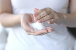 1.石鹸を泡立てる