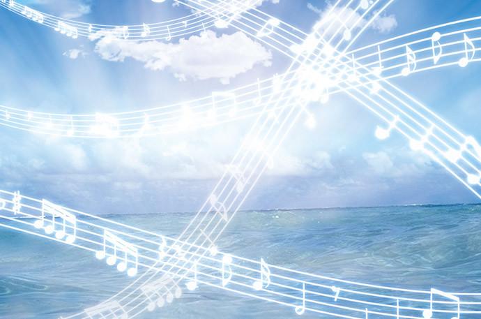 彼女好みの音楽をかける