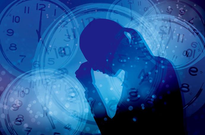一日の疲れが取れないのは6つのNG習慣3;:過度のストレスを感じている