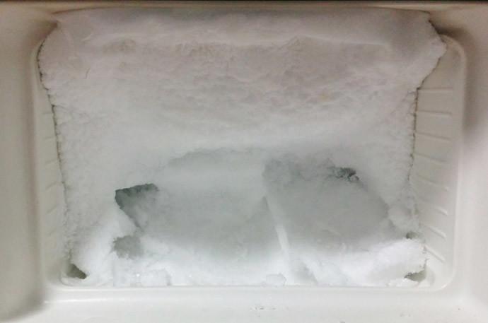 冷凍庫の霜取り方法