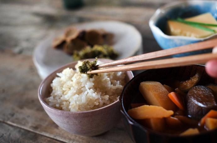 ワキガを抑える4つの生活習慣1.食事は和食を取る