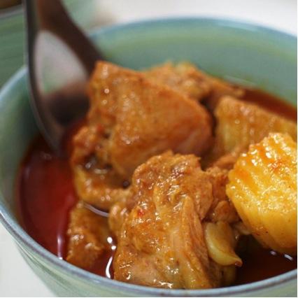 世界の美味しい食べ物ランキング 10位ゲーン・マッサマン/タイ