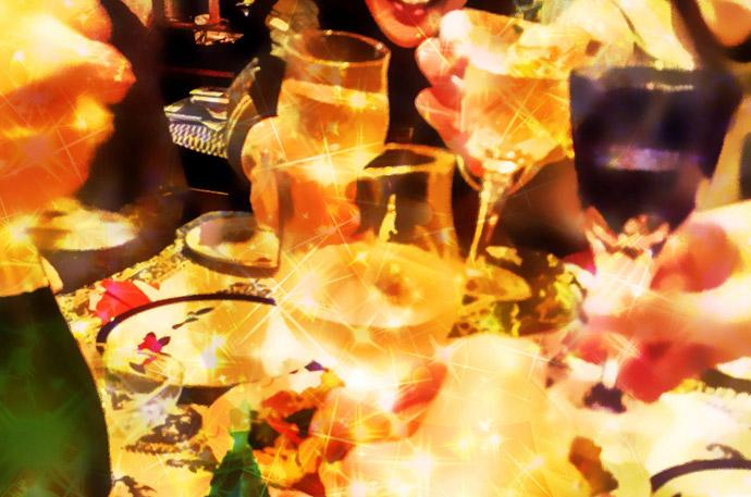 クリぼっちを楽しむクリスマス術2.パーティーに参加する