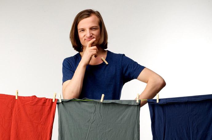 雨に濡れた洗濯物の対処法