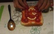 ピザトーストのレシピ4
