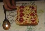 ピザトーストのレシピ5