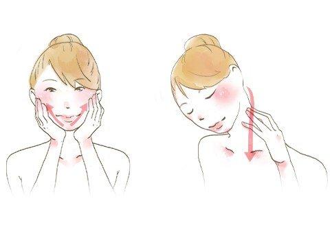 顔のむくみをとるにはリンパマッサージが最適!2