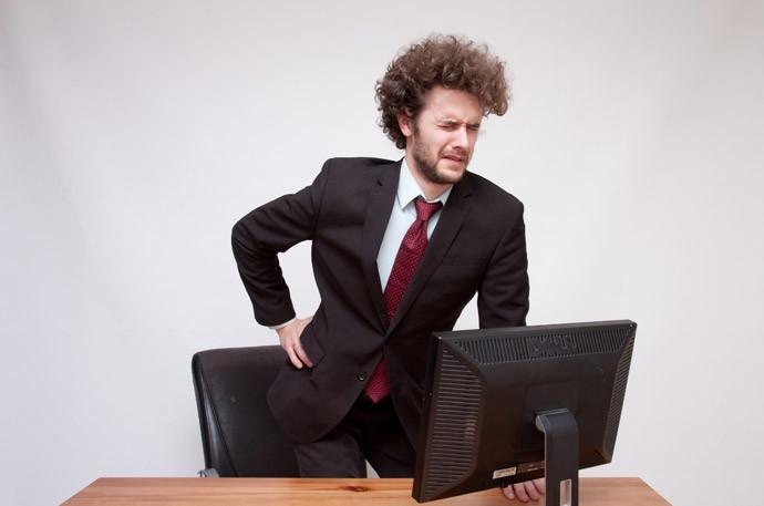1.デスクや椅子を調整する