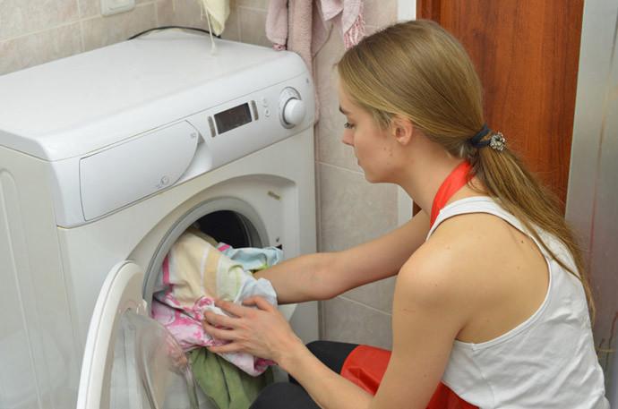 お米のとぎ汁再利用方法(5)洗濯にも使える