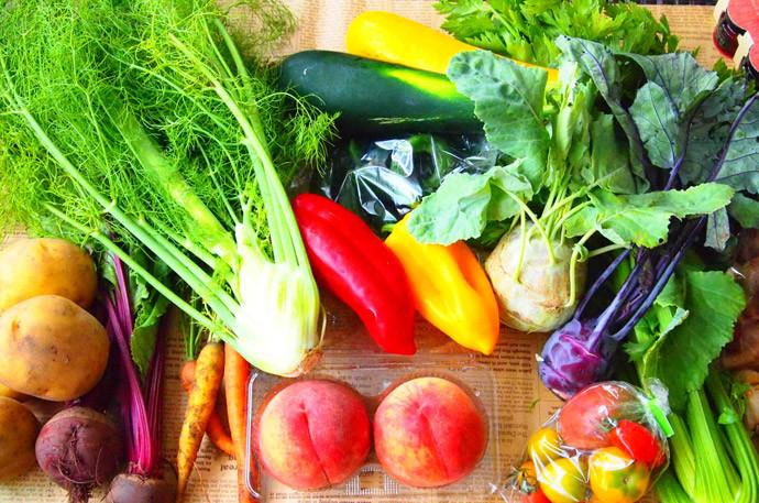 胃もたれの原因と対処法3.消化を助けてくれる食べ物と一緒に食べる