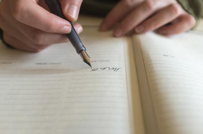 日記を習慣にするメリット5.文字を書く機会を得られる