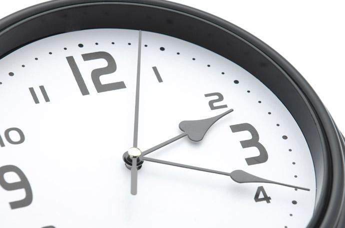 ワキガを改善する生活習慣2.食べる時間