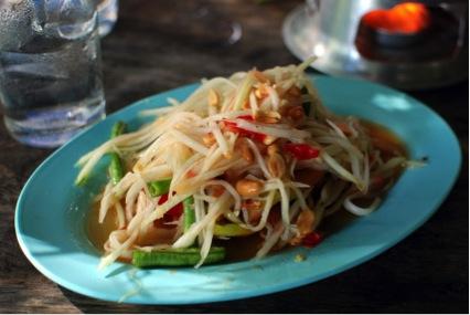 世界の美味しい食べ物ランキング 6位ソムタム/タイ