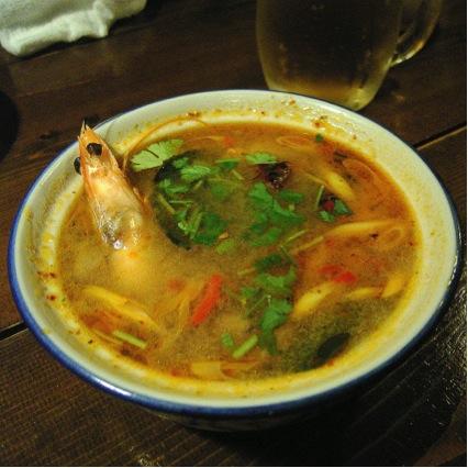 世界の美味しい食べ物ランキング 4位トムヤムクン/タイ