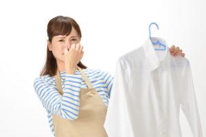 雨に濡れた洗濯物が臭い!臭いを消し去る方法