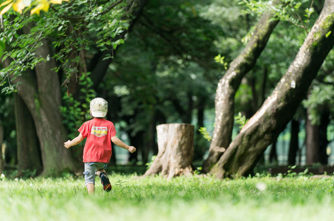 家族でお金をかけずに楽しく休日を過ごす方法1.公園